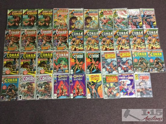 Marvel... Conan The Barbarian Assorted issues Not Consecutive