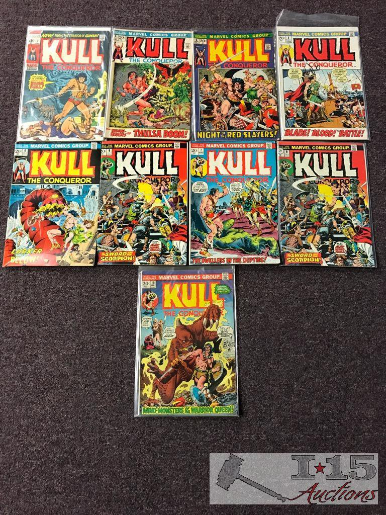 Kull the Conqueror Issues No. 1-10 Not Consecutive