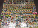 Approximately 233 Marvel and DC Comic Books from the 60's to 80's