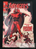 Marvel... The Avengers No. 57 First Appearance Of The Vision