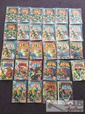 Marvel.. 28 Copies of the Man Called Nova Issues No. 1-25 Not Consecutive