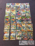 DC.. 25 Copies of World's Finest Comics Issues No. 130-168 Not Consecutive