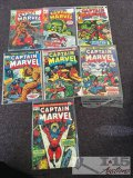 Marvel Comic Group Captain Marvel