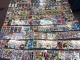Approximately 198 assorted comic books, Marvel, DC, Image, Topps, and more