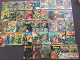 Charlton Comics... 42 Ghostly Tales, Haunted, Phantom assorted issues