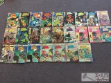 Charlton Comics... 25 Ghost Manor assorted issues