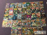 42 Assorted comic books, Marvel, Dell, DC, Charlton
