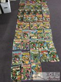 43 Assorted Man-Thing Comics