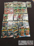 26 Assorted Warlord Comics
