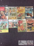 8 Assorted Promotional Comics