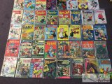 40 Assorted Gold Key, Harvey, And Charlton comics