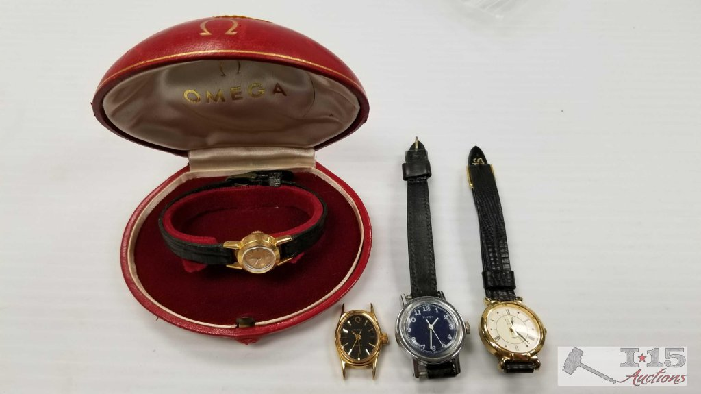 4 Watched. 3 Timex and 1 Omega