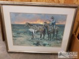 Another Day by James Reynolds reproduction of oil painting #124/1000 with certificate of