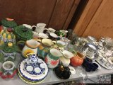 Glass Pitchers, Tea Sets and More