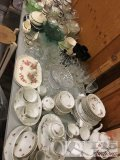 Glassware, Tea Sets and More