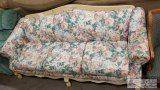 Floral Print 3 Person Couch