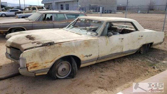 1968 Oldsmobile 98 4 Door Hardtop