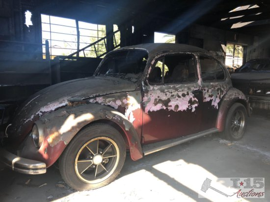 1969 VW with fire damage