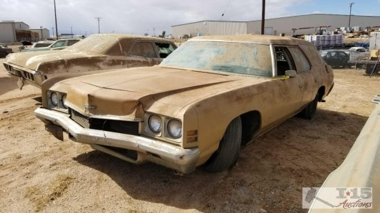 1972 Chevy Kingswood Station Wagon