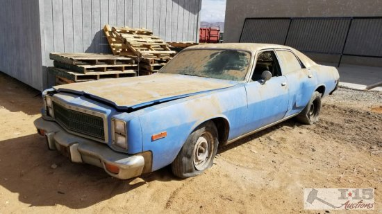 1978 Plymouth Fury 4 Door Sedan
