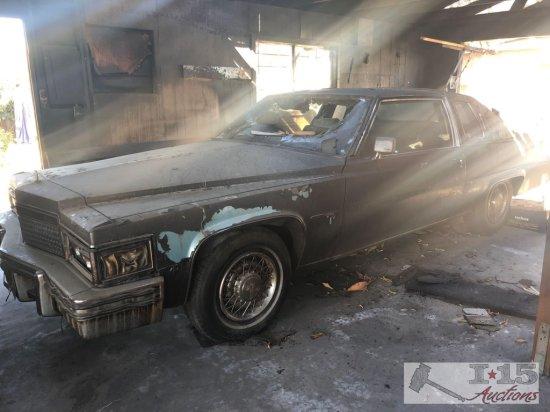 1979 Cadillac Coupe de Ville with fire damage NEW PHOTOS