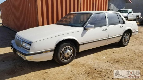 1990...Buick...LeSabre Custom White Current smog