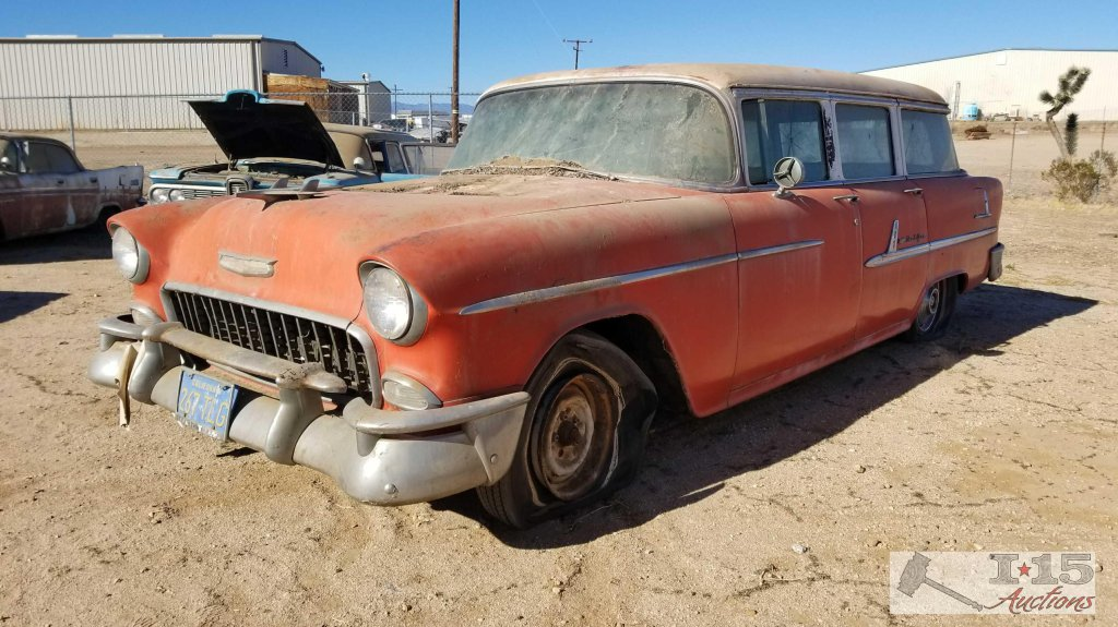 1955 Chevy Bel Air Station Wagon