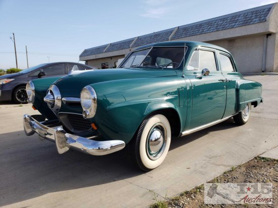 1950 Studebaker Champion 4 Door Bullet Nose California Car VIDEO JUST ADDED