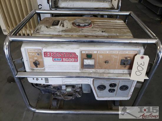 Honda EM 5000X Generator
