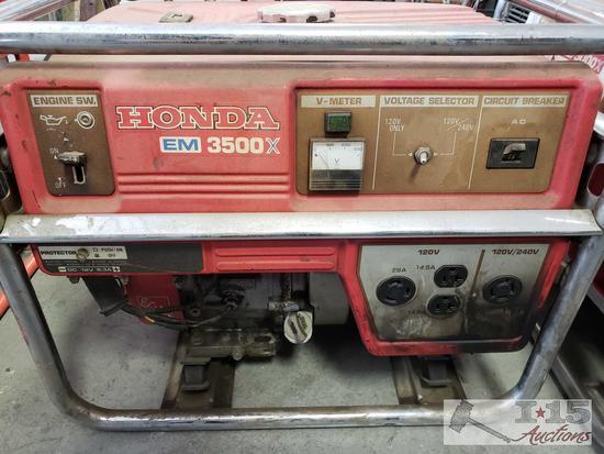 Honda EM 3500X Generator