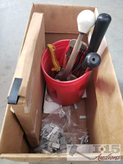 Box of Banding Supplies
