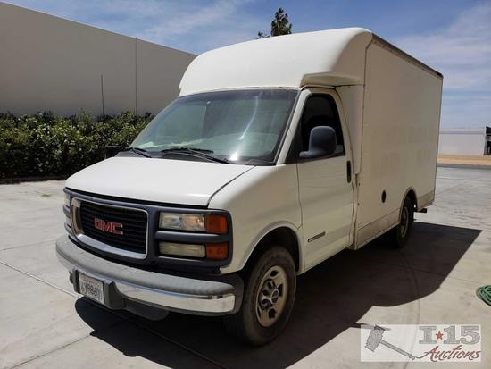 2002 GMC 3500 Box Van With ice cold A/C (current smog)