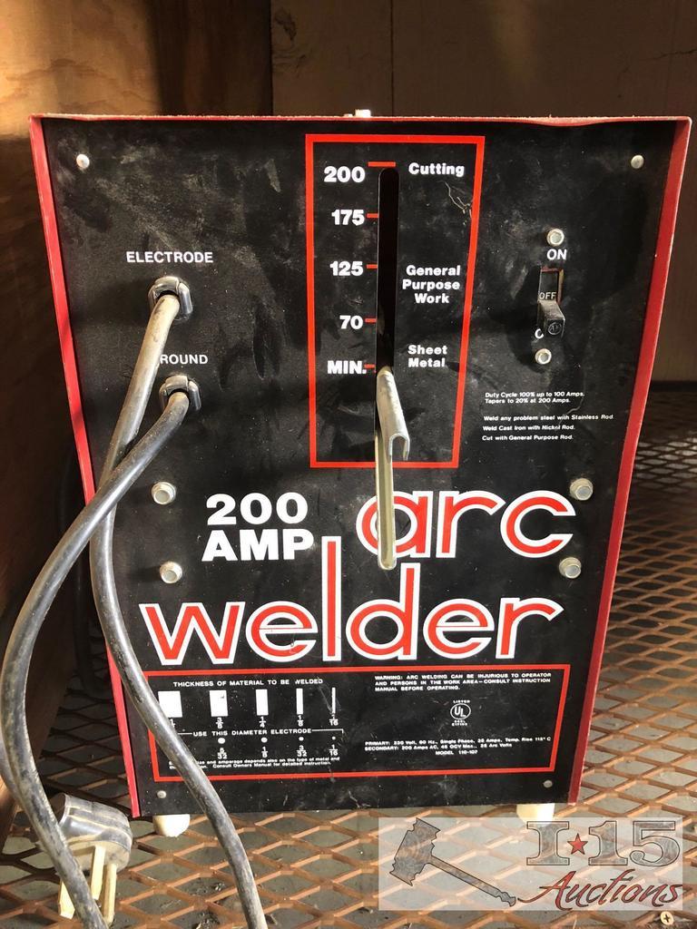 200AMP Arc Welder
