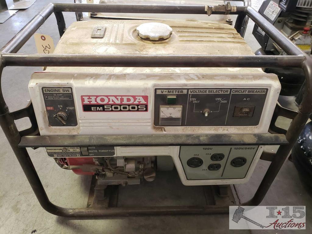 Honda EM 5000S Generator