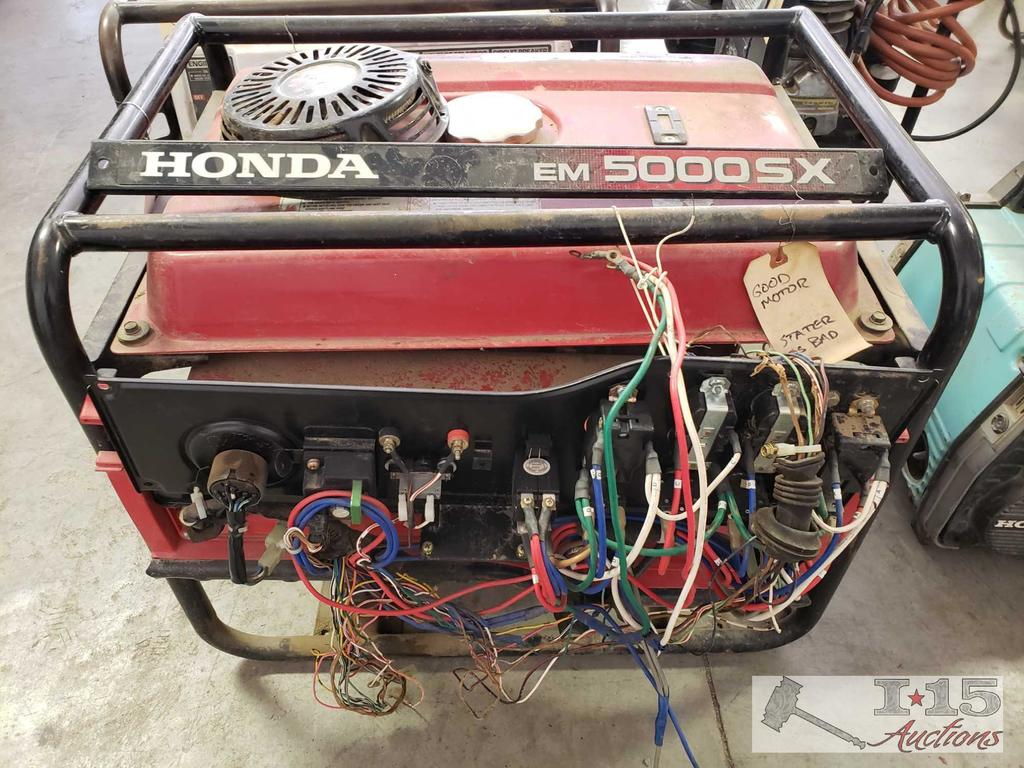 Honda EM 5000SX Generator