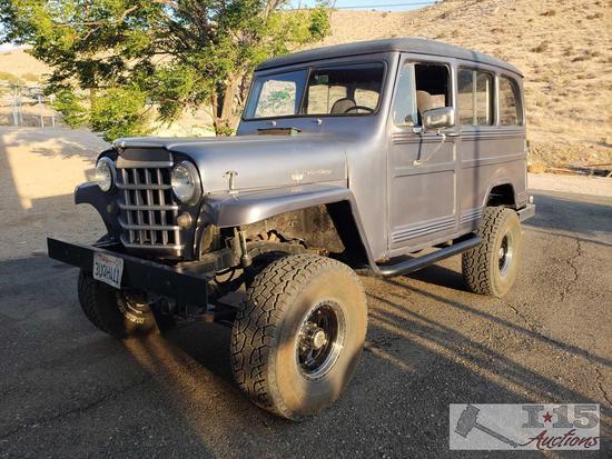 1951 Willys Overland 4x4