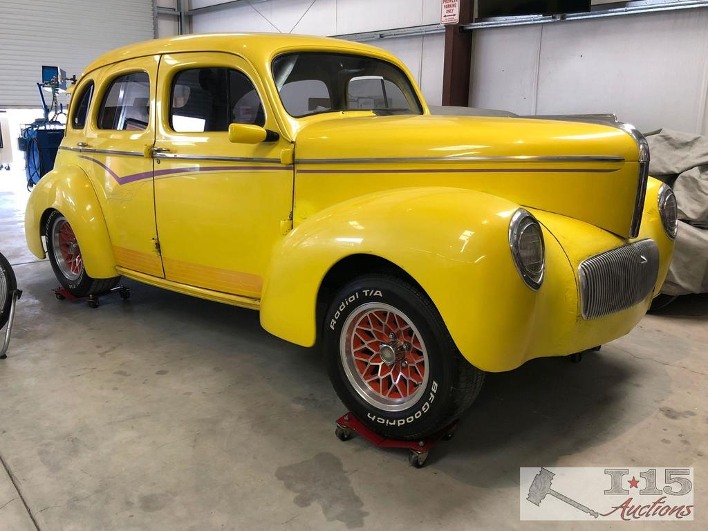 1942 Willy?s Americar 4 door, Original All Steel Body! Rolling Chassis! Please See All Photos!