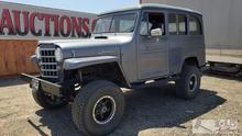 1951 Willys Overland 4X4, Please See Video