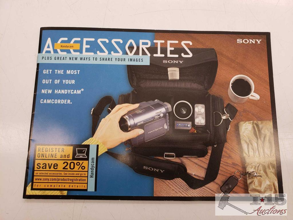 Lot: Sony Handycam Video Hi8 Camcorder | Proxibid Auctions