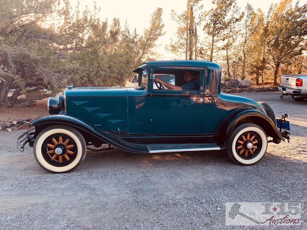 1929 Dodge Brothers Doctors Coupe, with rare rear light... Watch Video !!