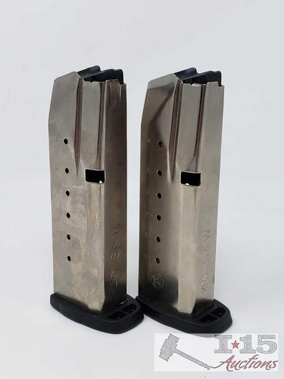2 Smith & Wesson SD40 VE 16 Round Magazines, Out of State or LEO