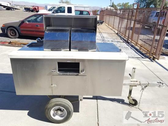 HNK Hot Dog Cart