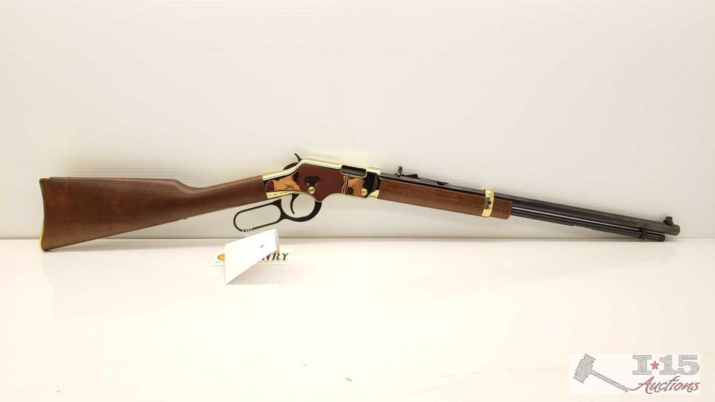 New, Henry Repeating Arms Golden Boy .17HMR Model: H004v