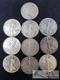 1947 and Older Walking Liberty Half Dollars