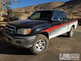 2000 Toyota Tundra Access Cab. Current Smog!!! See Video!