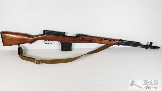 Russian SVT-40 7.62 x 54R Rifle