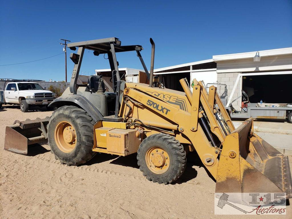 "Case 570LXT Series 2 Loader with Gannon, 4 in 1 Bucket ""ONLY 1474 HOURS"", See Video!!"