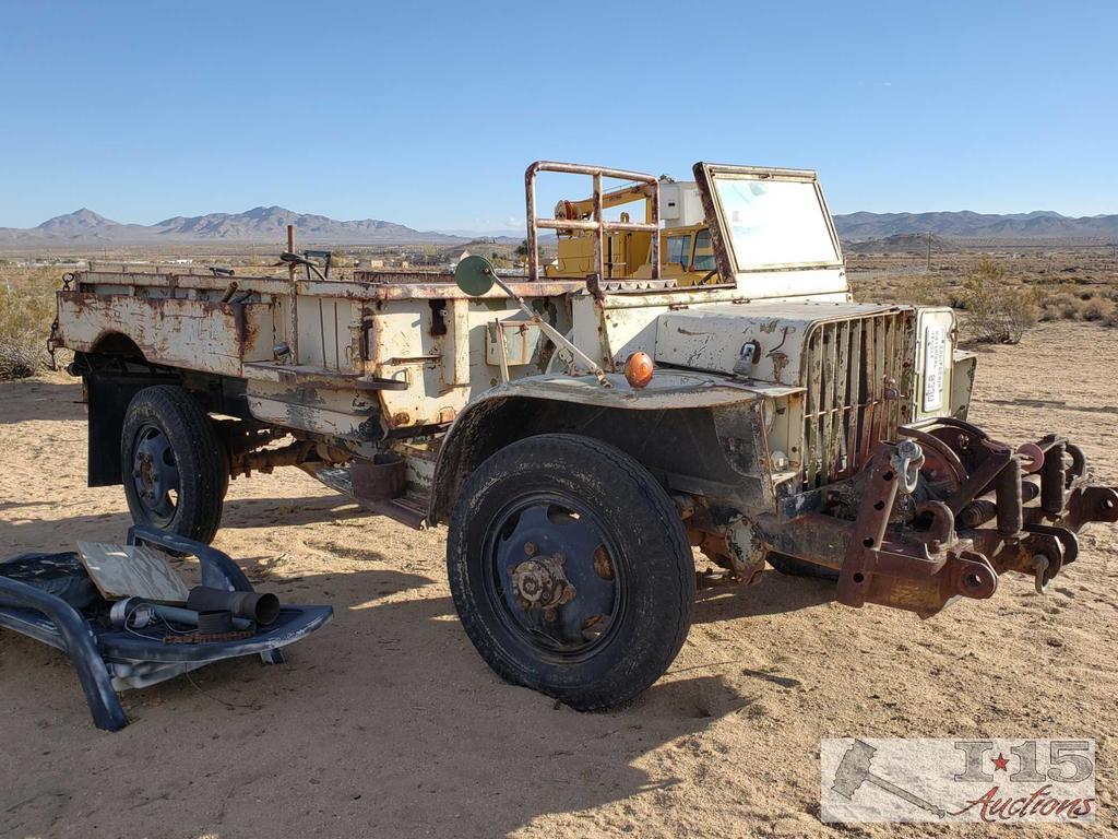 US Navy Bomb Service Truck