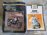 2 Clymer BMW Motorcycle Service Manuals, R-Series 1970-1989 and a 1955-1975