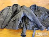 UNIK Size 46 Leather Jacket and Leather Jacket without Tag